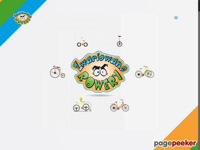 Atrakcja na event to m.in.: rower przeciwskrętny