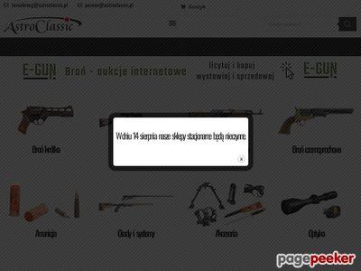Broń i amunicja - sklep
