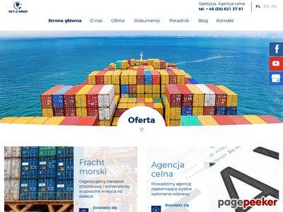 Net-Cargo Spółka z o.o. transport morski