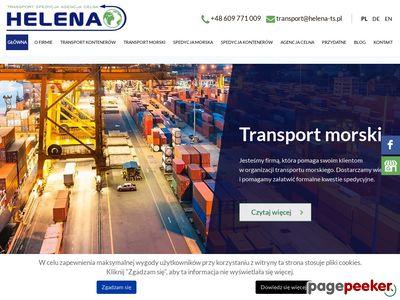 Transport kontenera HELENA-TS Gdynia