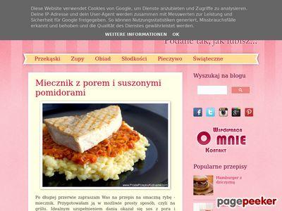 Blog kulinarny www.ProstePrzepisyKulinarne.com