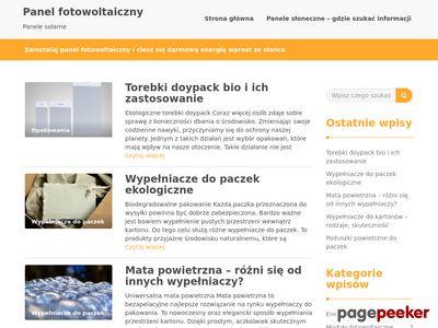 Ogniwa fotowoltaiczne blog