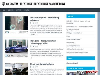 GK SYSTEM naprawa instalacji samochodowych szczecin