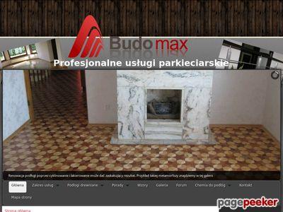 Cyklinowanie w Warszawie - budomaxparkiety.pl